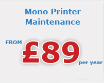mono printer maintenance Grimsby